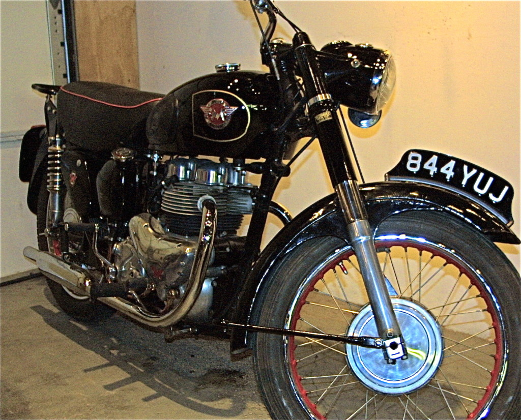 Cars For Sale Austin Tx >> 1955 Vintage Matchless 650cc Motorcycle for Sale at Revival Cycles | ATX Car Pictures | Real ...