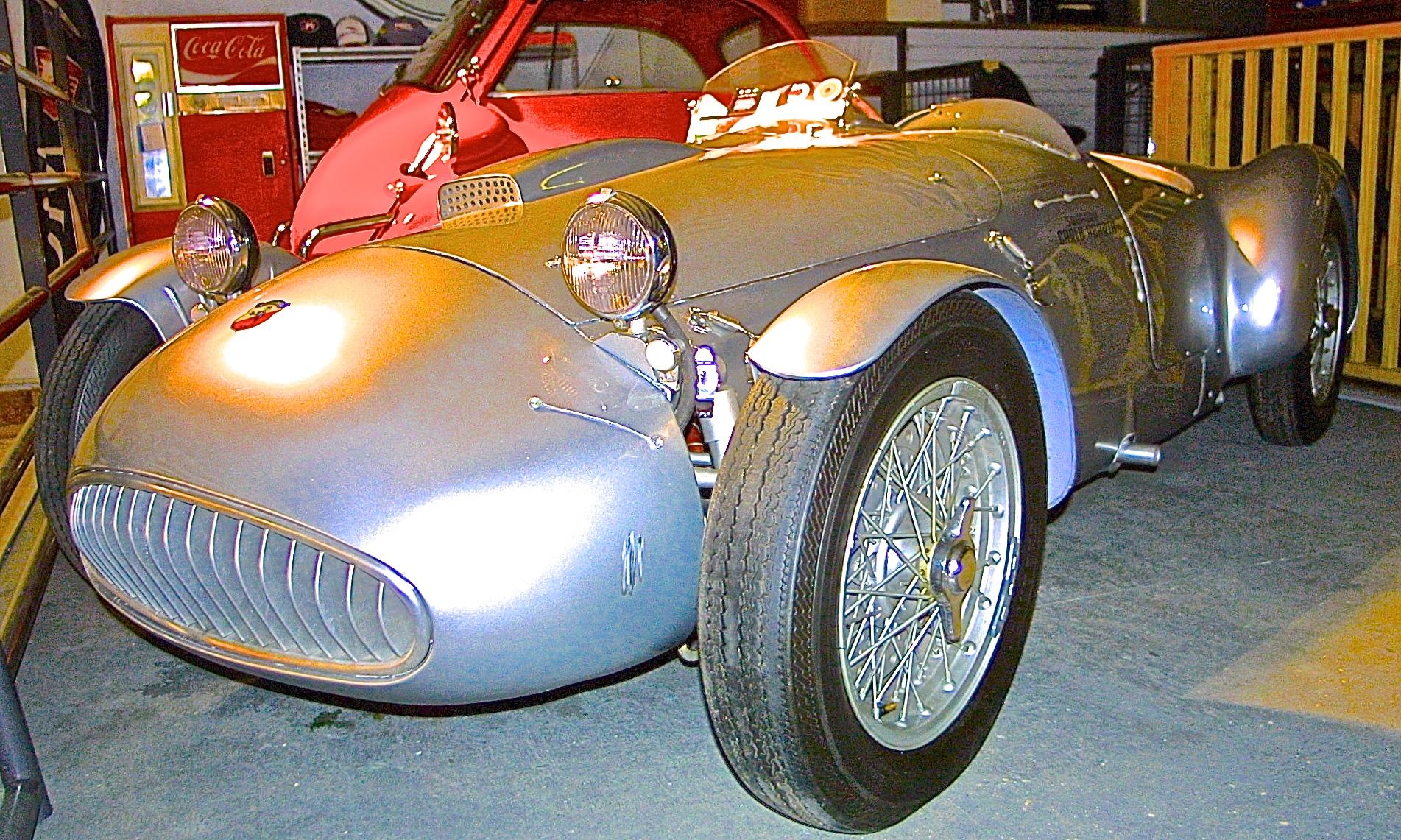 1950 Cisitalia Abarth 204 A Spyder Sport at Motoreum