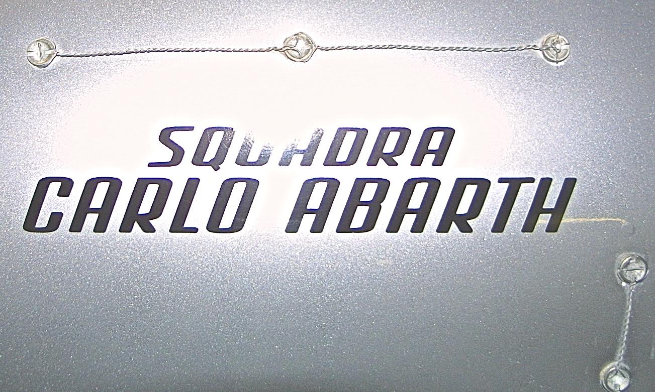 1950 Cisitalia Abarth 204 A Spyder Sport detail