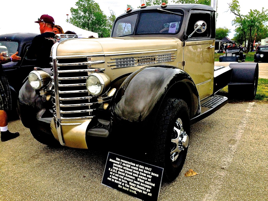 Diamond T Truck For Sale Craigslist >> 1947 Diamond T Custom Truck at Lonestar Round Up | ATX Car Pictures | Real Pics from Austin TX ...