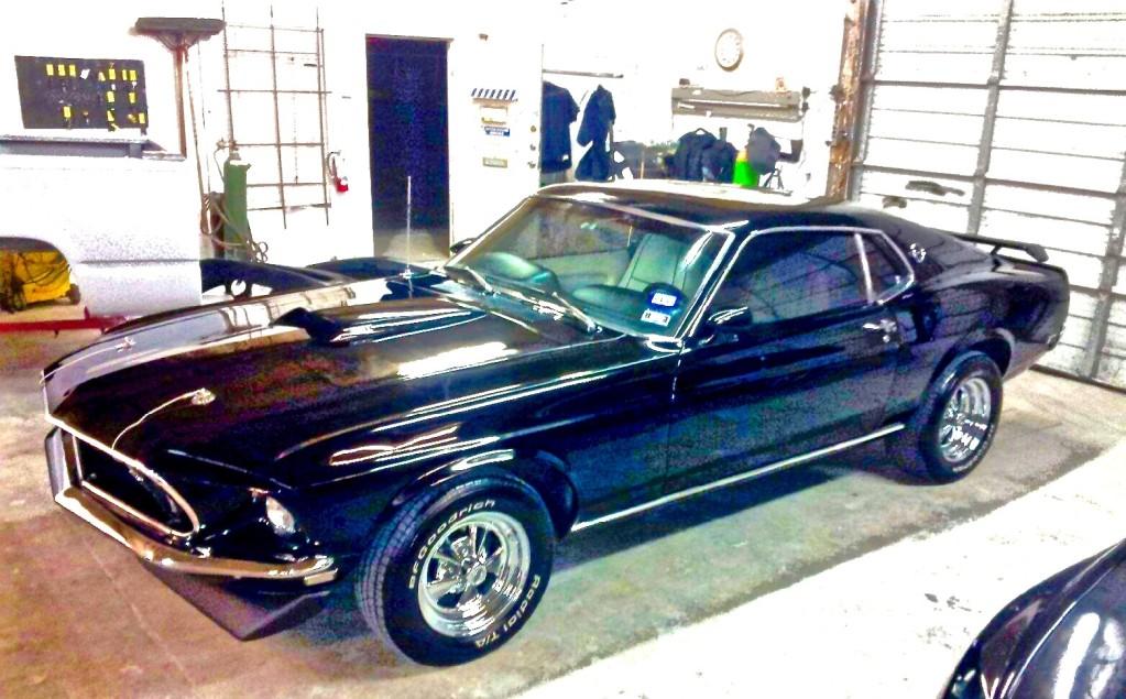 Gina S Brilliant 1969 Mustang Mach 1 Lucifer Atx Car